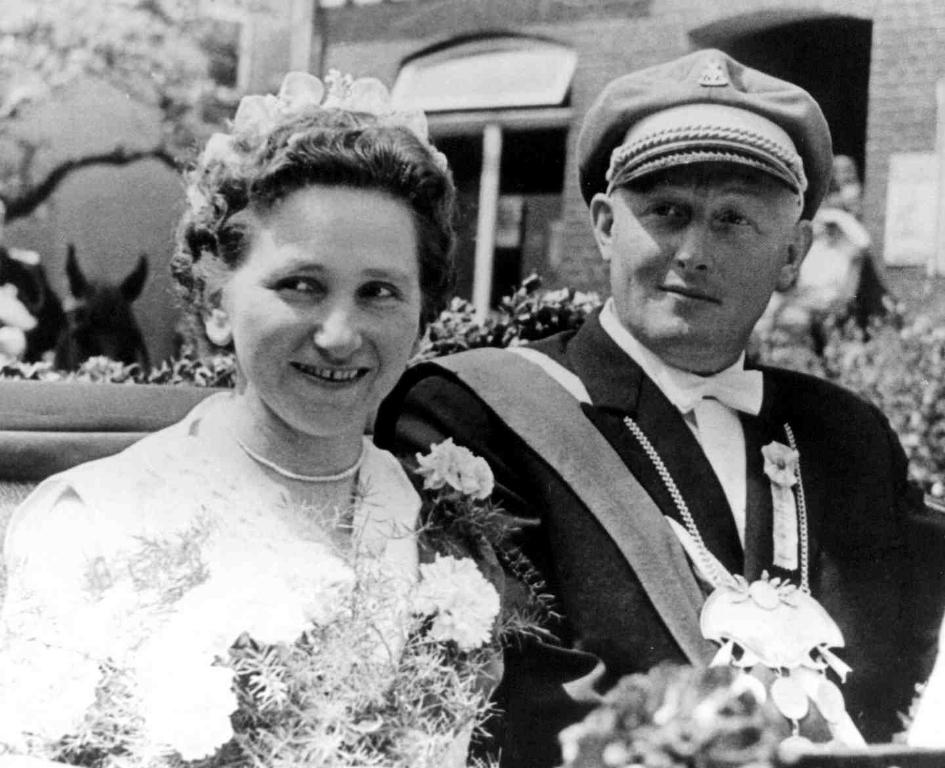 1957-1959 Willi Kirchhof mit Erna Hauptmann