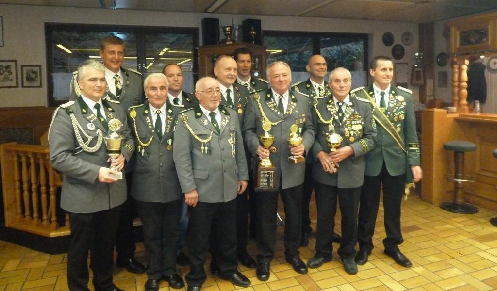 Sieger Abschiessen 2012